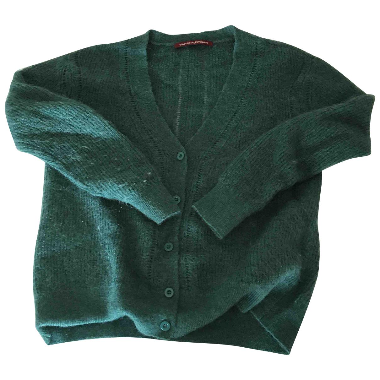 Comptoir Des Cotonniers \N Green Wool Knitwear for Women XS International