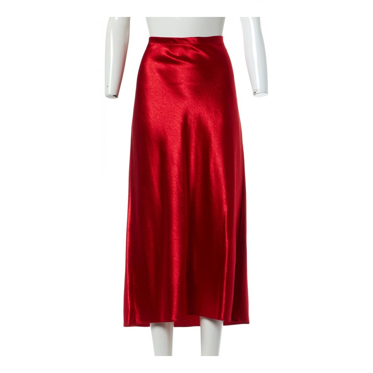 Sies Marjan - Jupe   pour femme - rouge