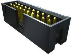 Samtec , Flex Stack TSS, 24 Way, 2 Row, Right Angle PCB Header (16)