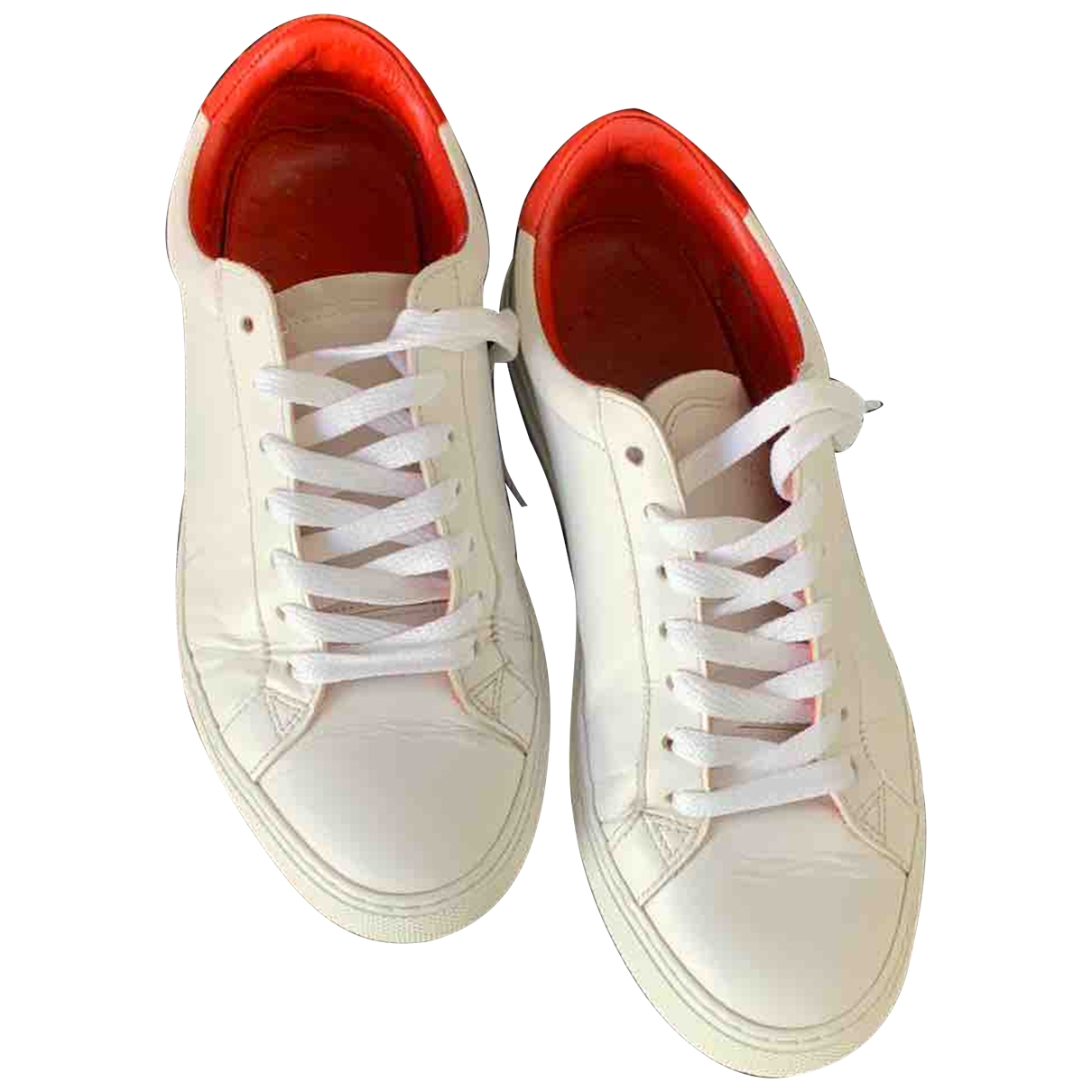 Givenchy \N White Leather Trainers for Women 38 EU