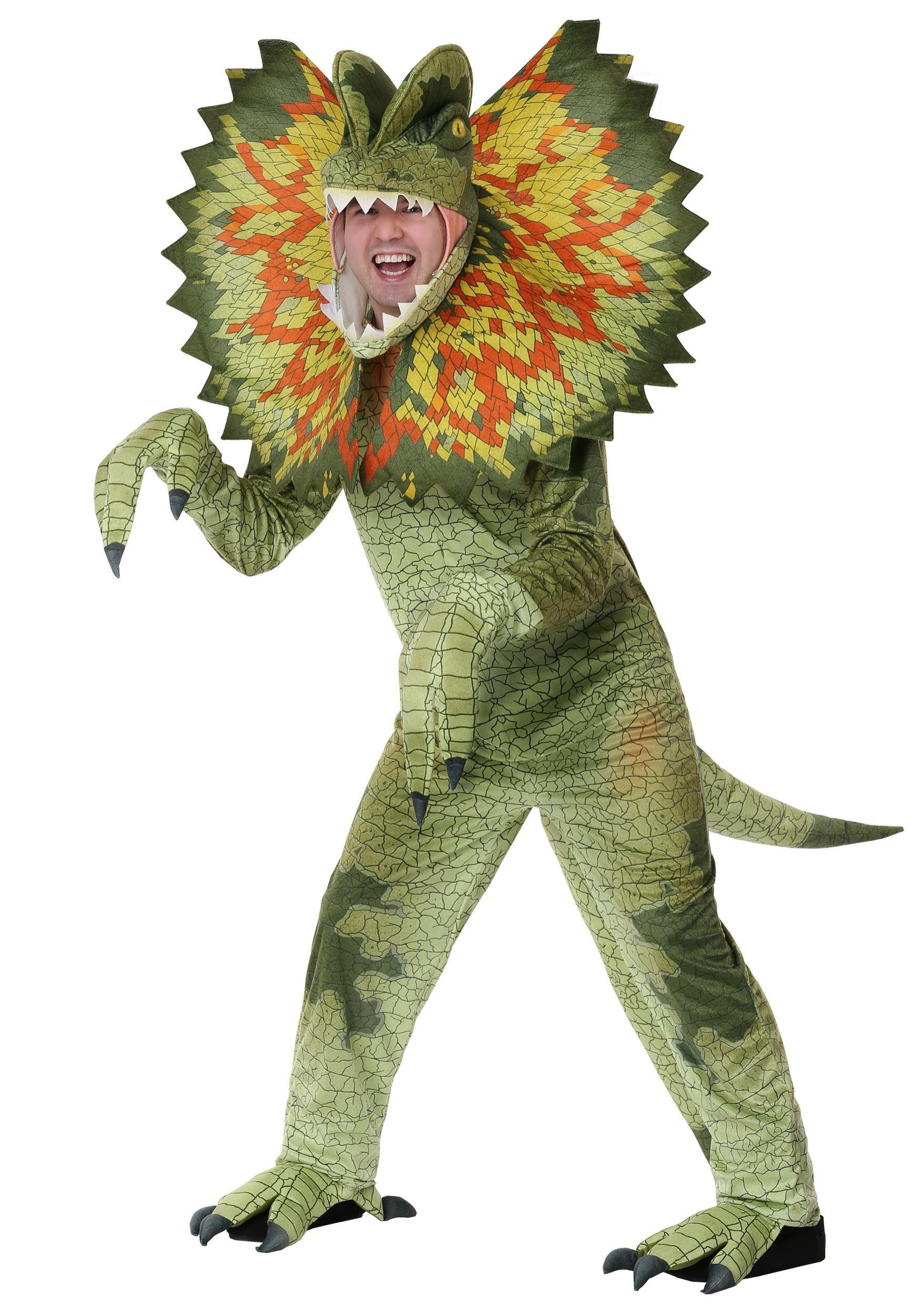 Dilophosaurus Costume for an Adult | Dinosaur Costume