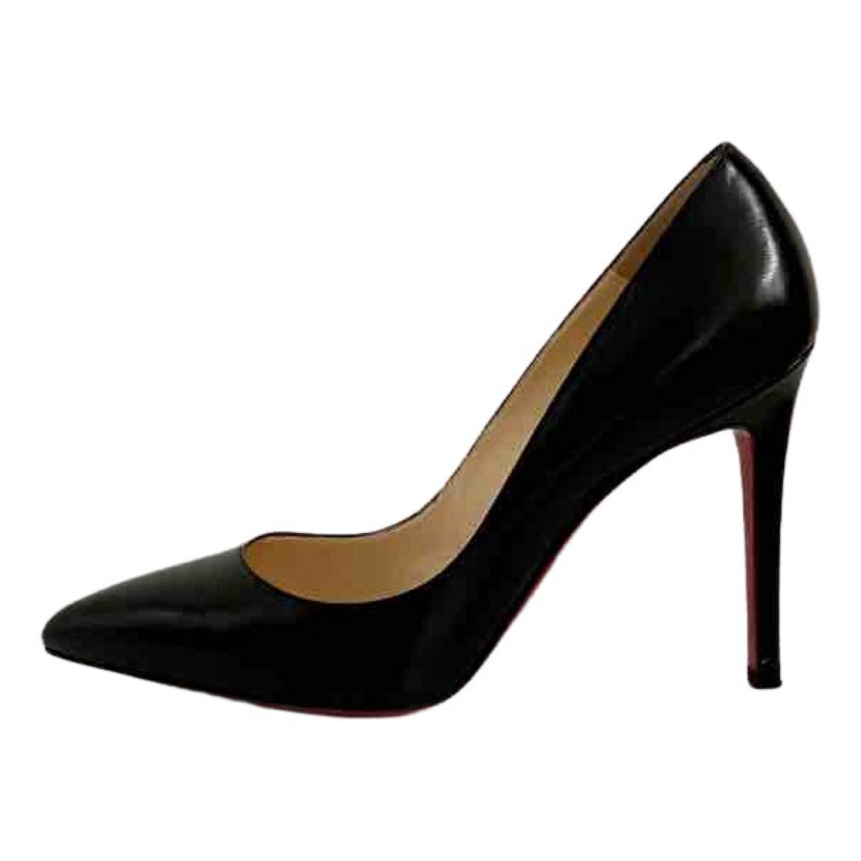 Christian Louboutin \N Pumps in  Schwarz Leder