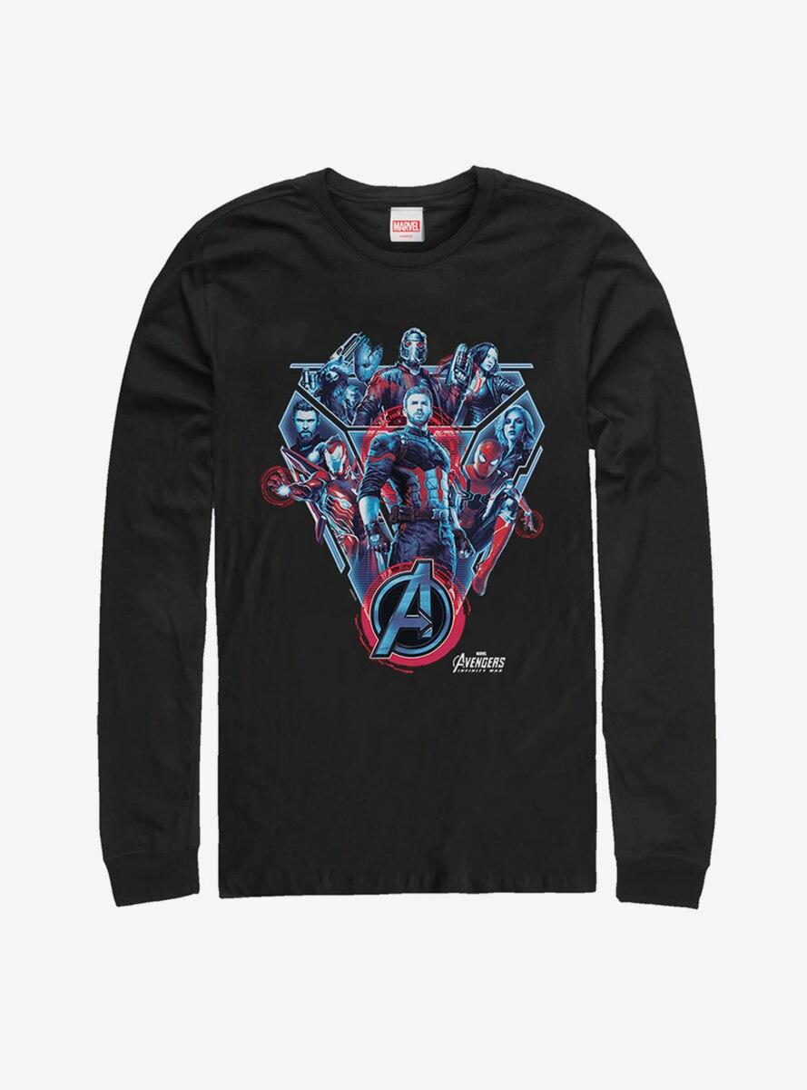 Marvel Avengers: Infinity War Armor Long Sleeve T-Shirt