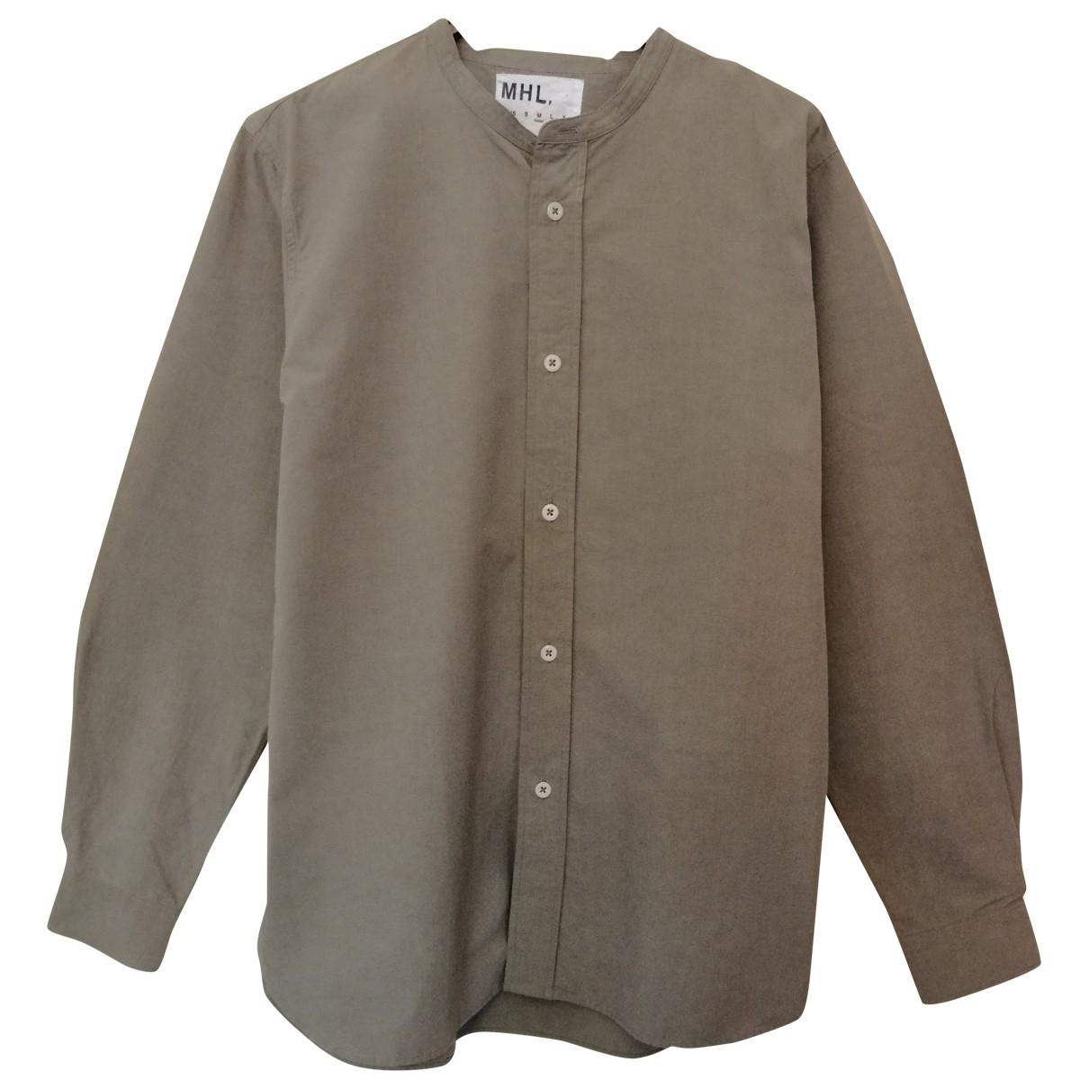 Margaret Howell \N Hemden in  Gruen Baumwolle