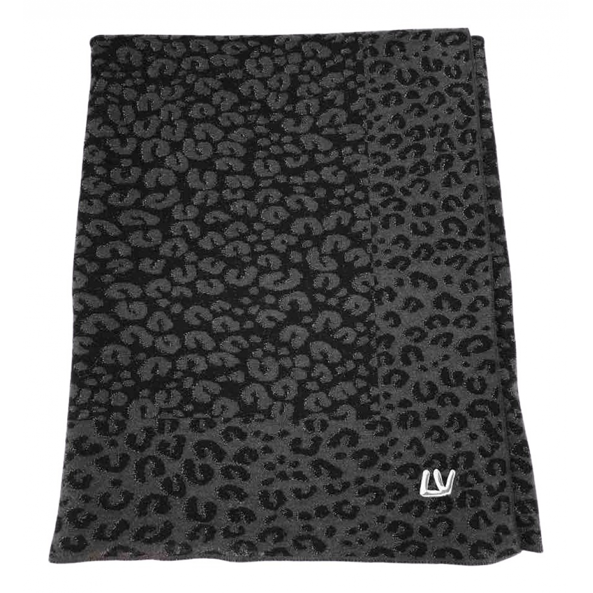 Louis Vuitton \N Anthracite Cashmere scarf for Women \N