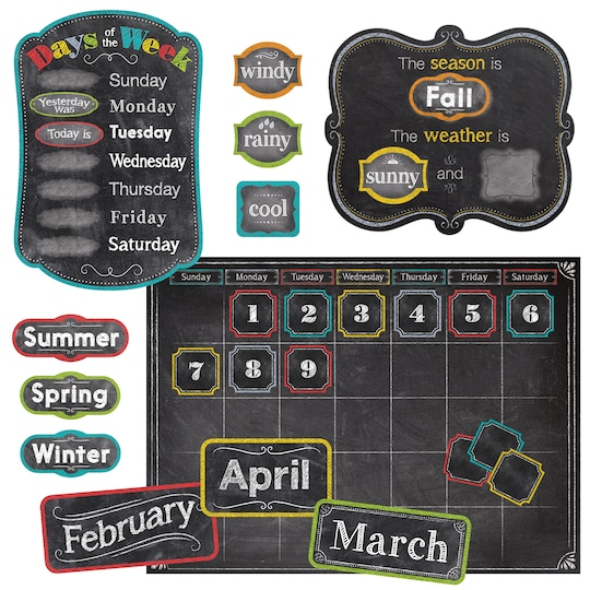 Chalk It Up Calendar Set By Creative Teaching Press | Michaels®