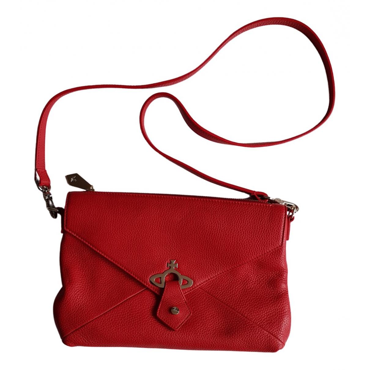 Vivienne Westwood N Red Leather handbag for Women N