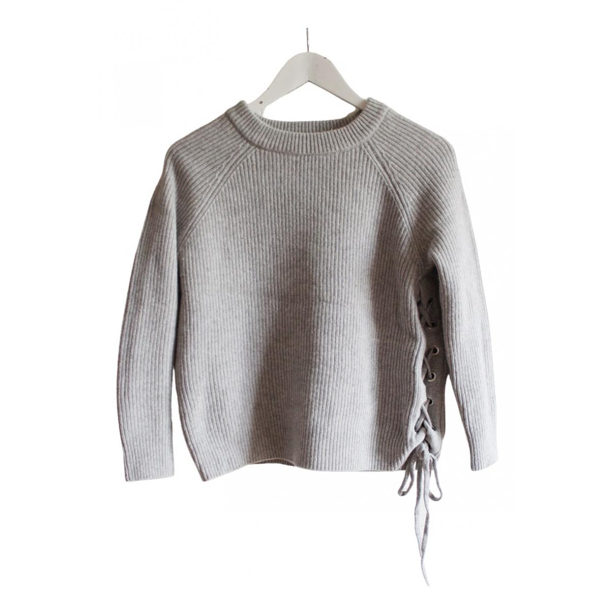 Ba&sh \N Grey Wool Knitwear for Women 1 0-5