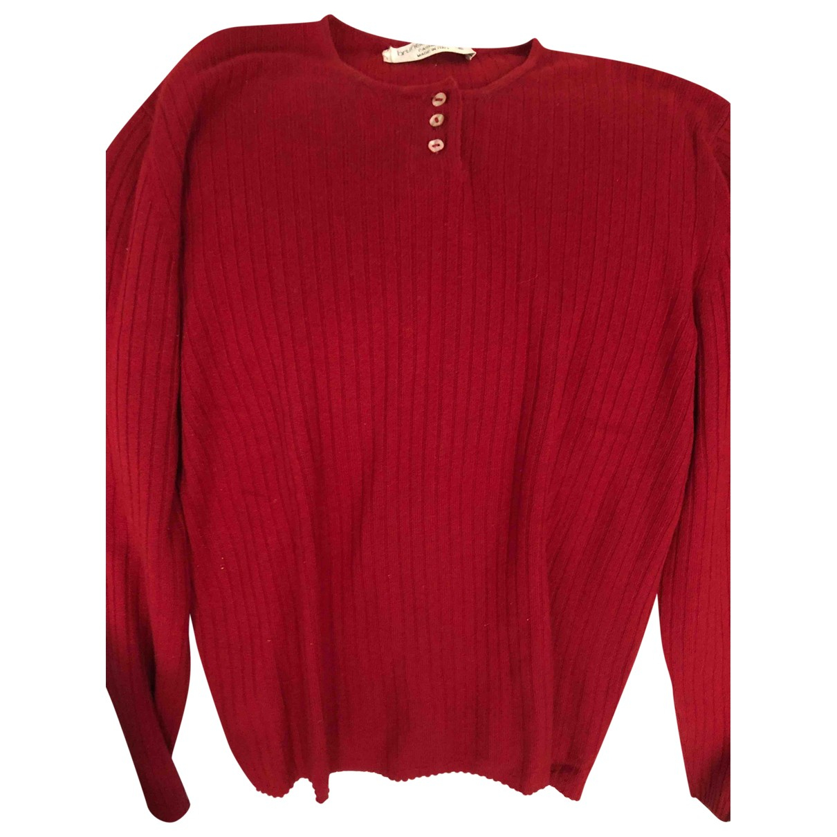 Brunello Cucinelli \N Red Cashmere Knitwear for Women 40 FR