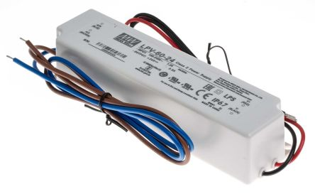 Mean Well Constant Voltage LED Driver 60W 24V