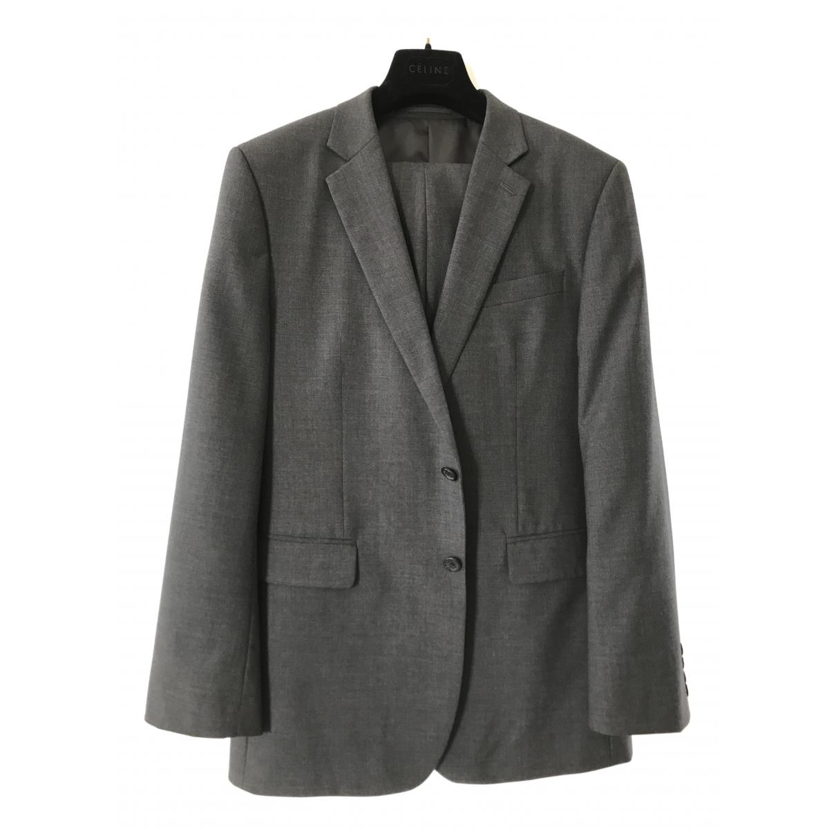 Jaeger - Costumes   pour homme en laine - anthracite