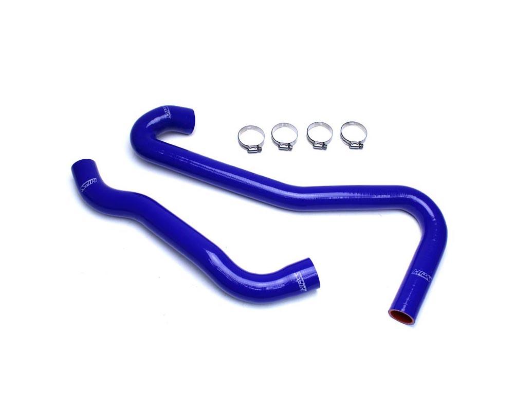 HPS Blue Reinforced Silicone Radiator Hose Kit Coolant for Jeep 06-08 Grand Cherokee SRT8 6.1L V8 WK1