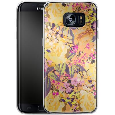 Samsung Galaxy S7 Edge Silikon Handyhuelle - Symmetric Spring von Zala Farah