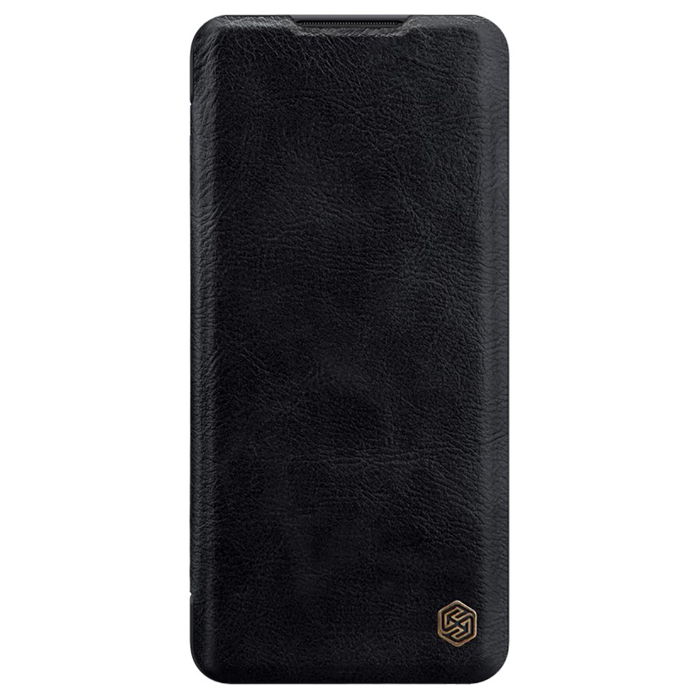 NILLKIN Protective Leather Phone Case For Xiaomi CC9 Pro / Xiaomi Mi Note 10 / Xiaomi Mi Note 10 Pro Smartphone - Black