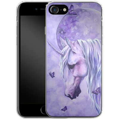 Apple iPhone 7 Silikon Handyhuelle - Moonlit Magic von Selina Fenech