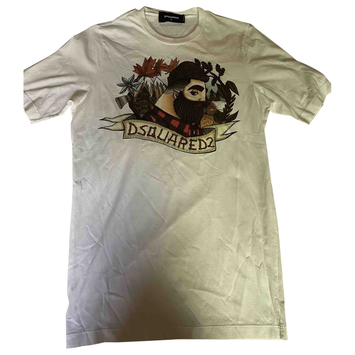 Dsquared2 \N White Cotton  top for Women S International