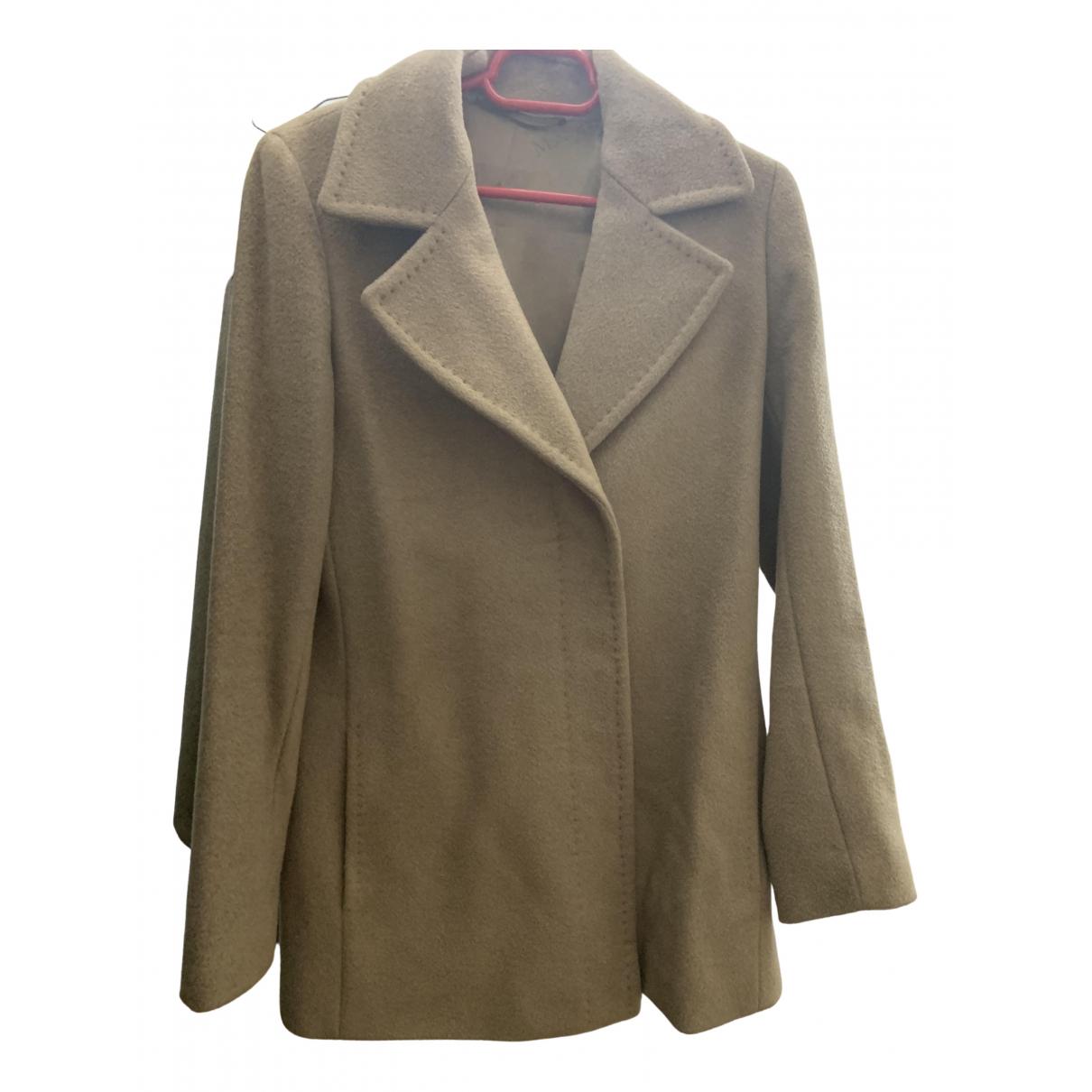 Max Mara - Manteau 101801 pour femme en laine - camel