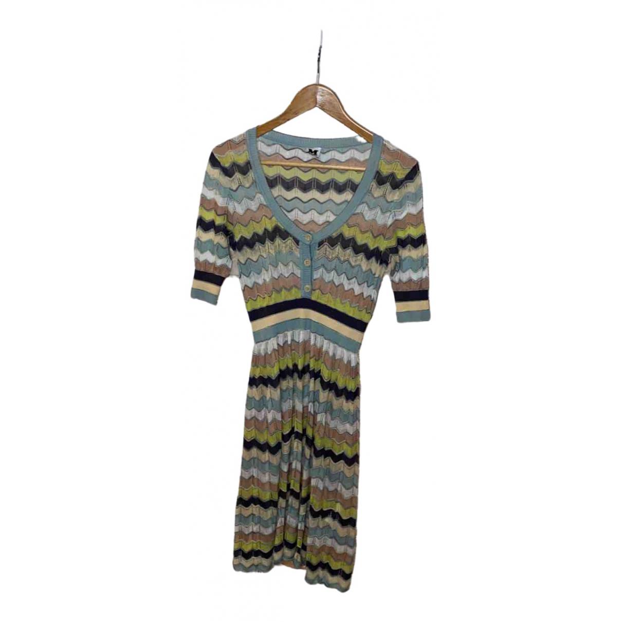 M Missoni - Robe   pour femme en coton