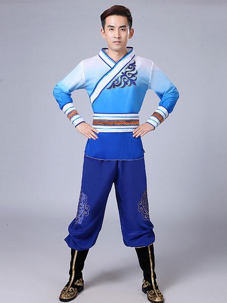 Milanoo Disfraz Halloween Disfraces chinos Kung Fu Tang Suit Disfraces de carnaval Halloween