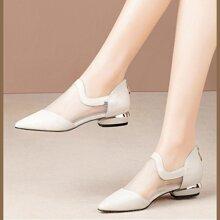 Zapatillas panel con malla de punta