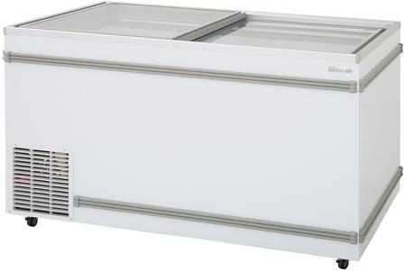TFS-20F-N 58 Top Open Island Freezer with 20.29 cu. ft. Capacity  Hydrocarbon Refrigerants  High-Density Polyurethane Insulation and Low-E Glass
