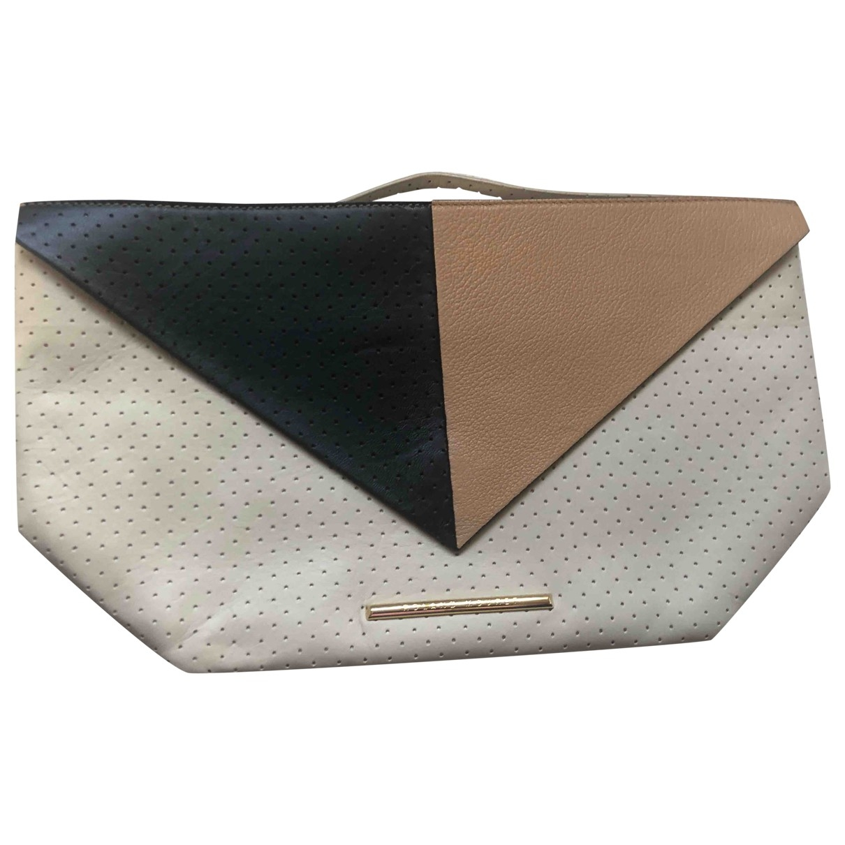 Roland Mouret \N Multicolour Leather Clutch bag for Women \N