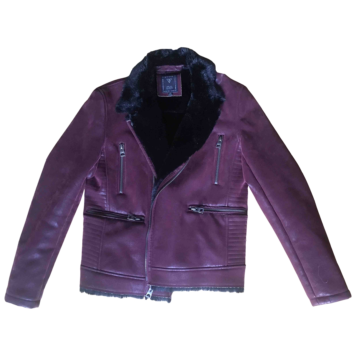 Guess \N Burgundy coat for Women M International