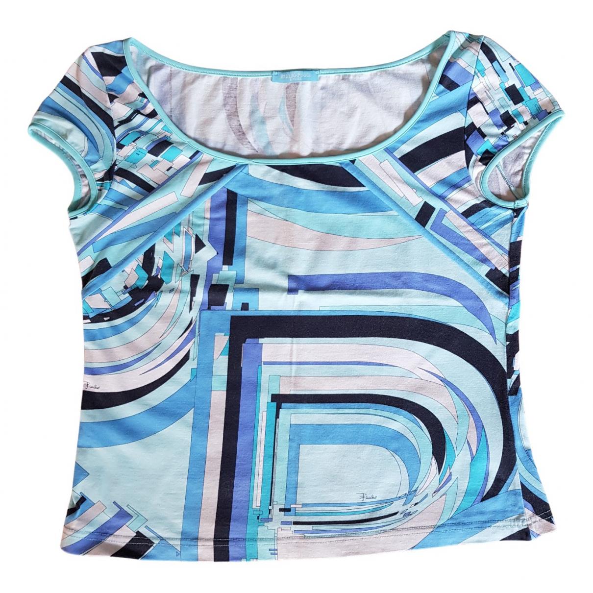 Emilio Pucci N Multicolour Cotton  top for Women 42 IT