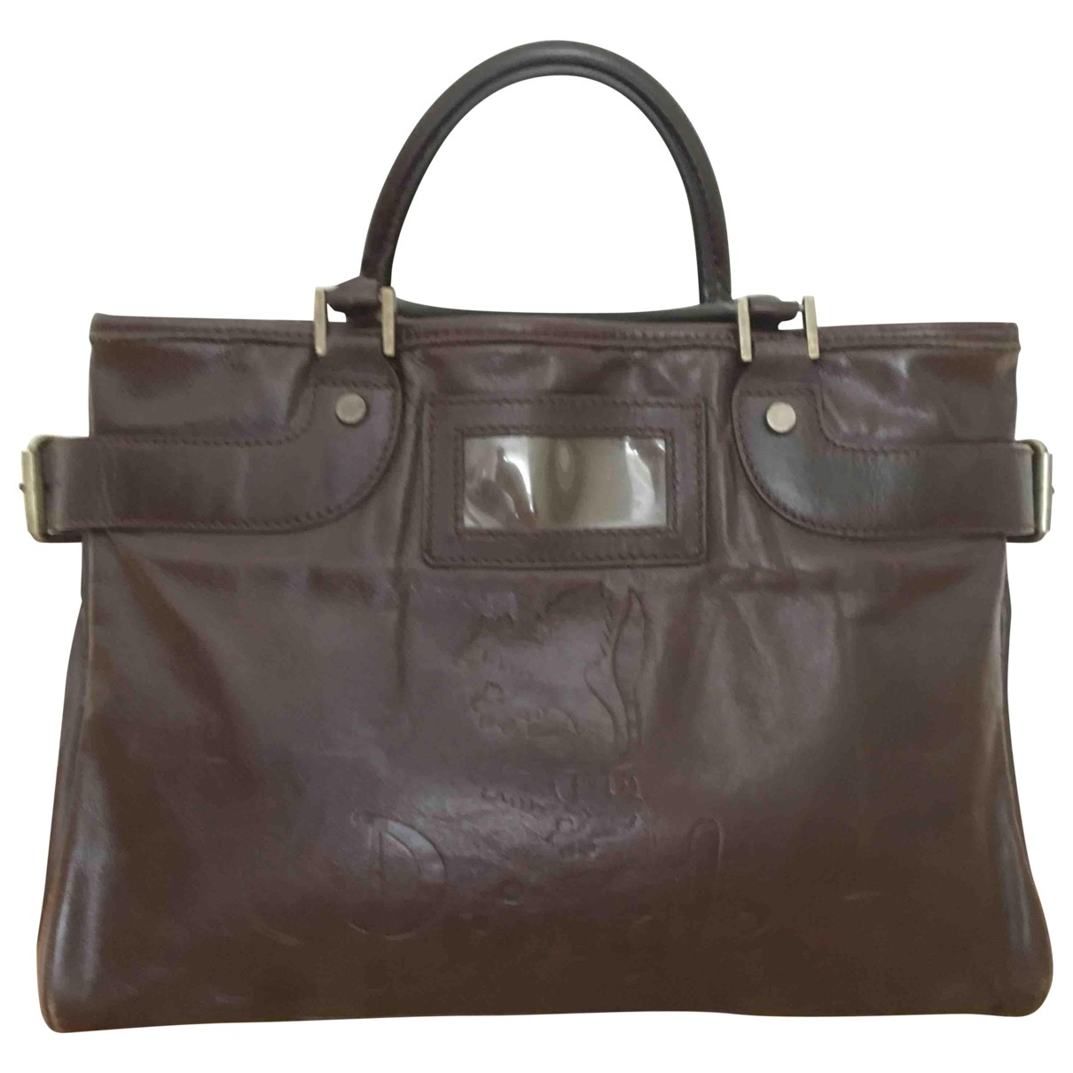 Pringle Of Scotland \N Brown Leather handbag for Women \N