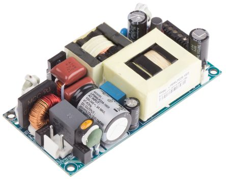 EOS , 225W Embedded Switch Mode Power Supply SMPS, 24V dc, Open Frame, Medical Approved