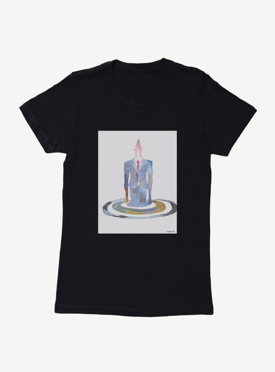 Business Fish Watercolor Womens T-Shirt