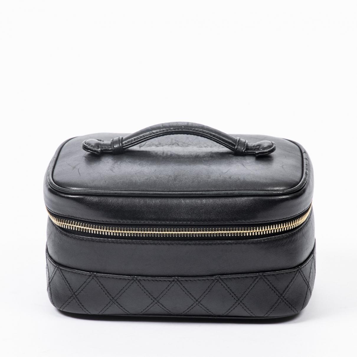 Chanel \N Black Leather Clutch bag for Women \N