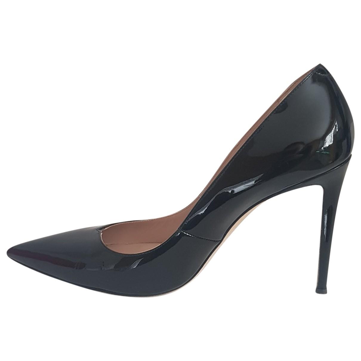 Giuseppe Zanotti \N Black Patent leather Heels for Women 41 EU