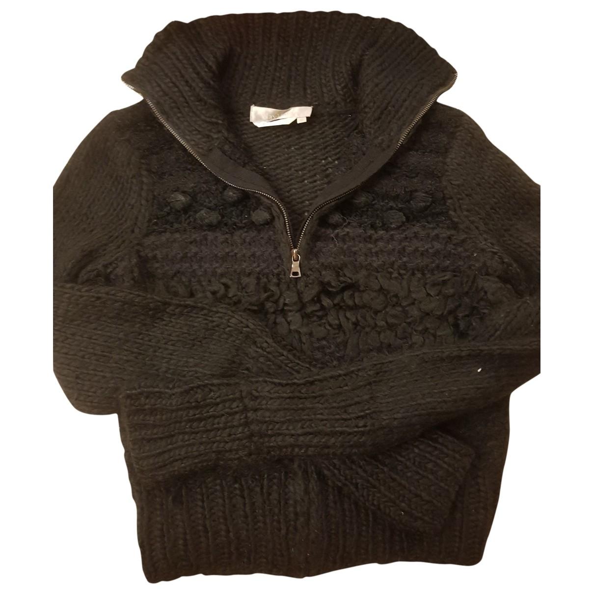 Max Mara - Pull   pour femme en laine - noir