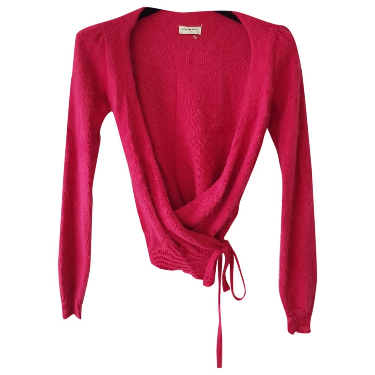 Dries Van Noten \N Pink Cashmere Knitwear for Women S International
