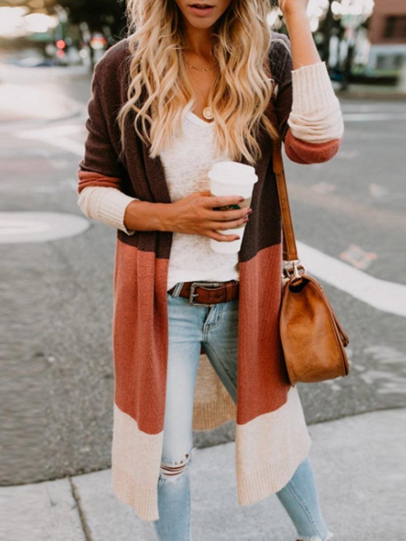 Ericdress Regular Slim Long Sweater
