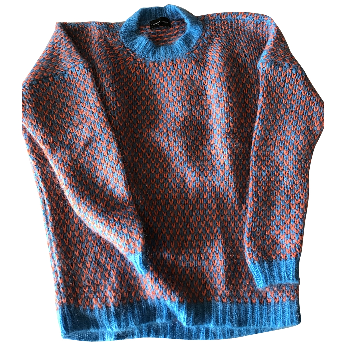 Roberto Collina \N Pullover in  Blau Wolle