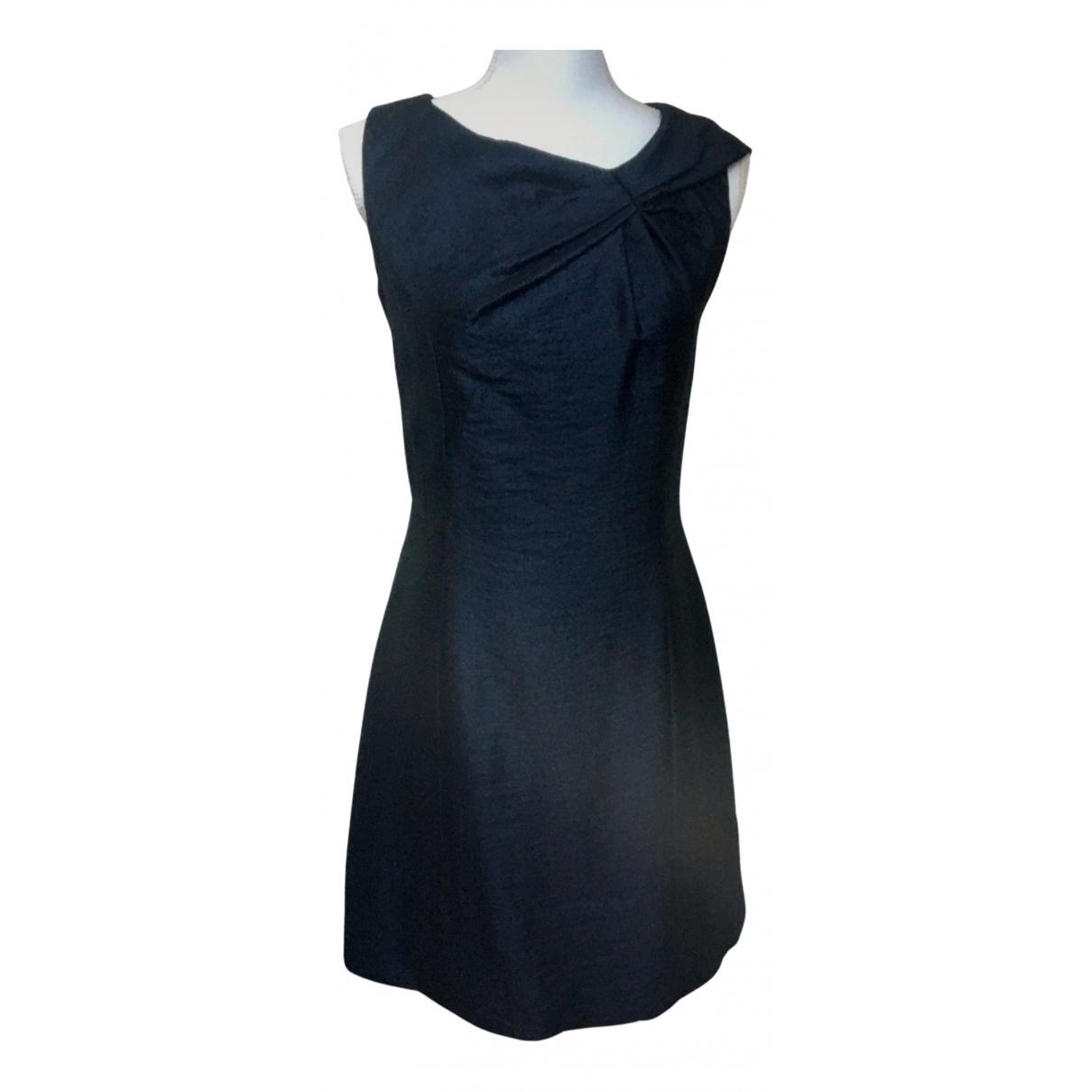 Louis Vuitton \N Navy Wool dress for Women 40 FR