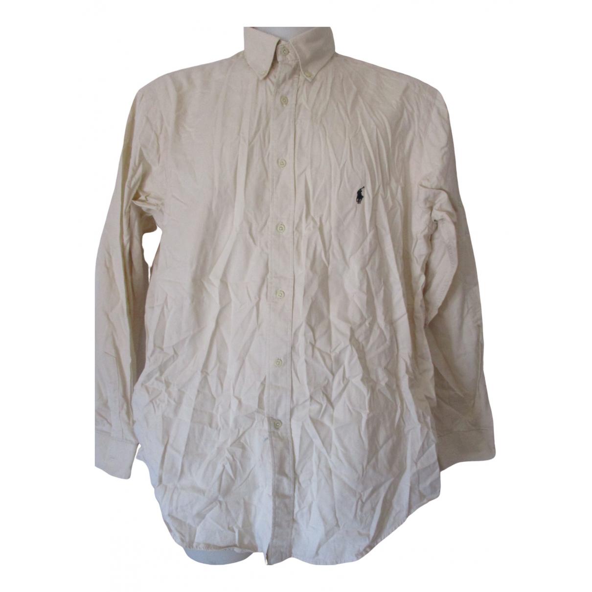 Polo Ralph Lauren \N Hemden in  Gelb Baumwolle