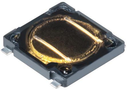 C & K IP40 Black Flush Tactile Switch, Single Pole Single Throw (SPST) 50 mA Surface Mount (7000)