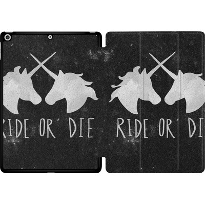 Apple iPad 9.7 (2018) Tablet Smart Case - Ride or Die von Leah Flores