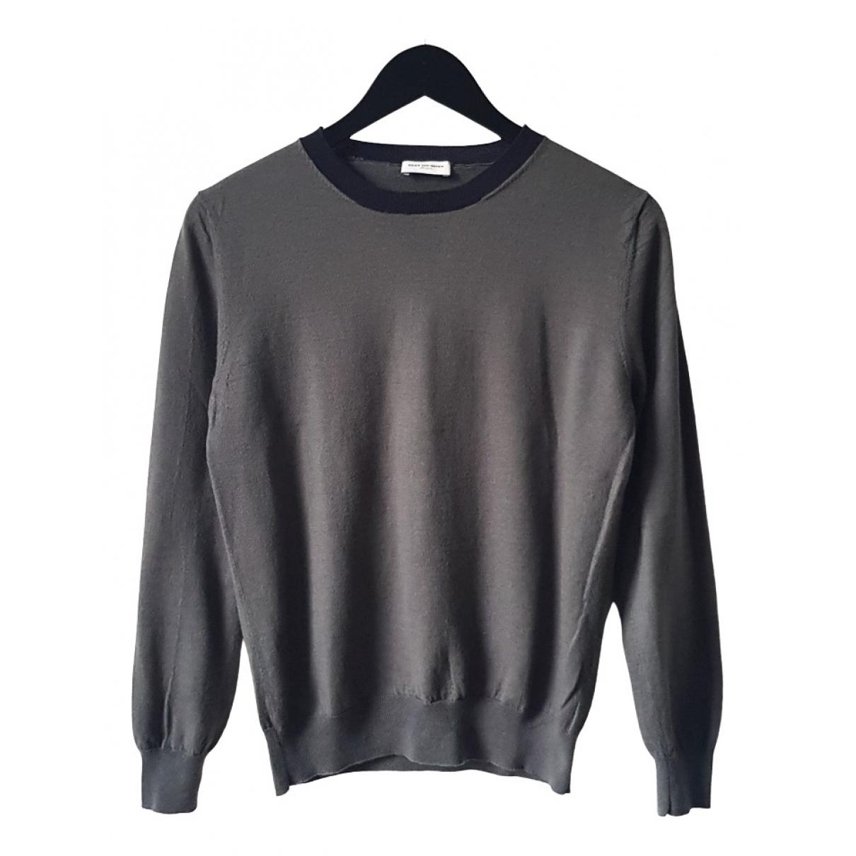 Dries Van Noten - Pulls.Gilets.Sweats   pour homme en laine - gris