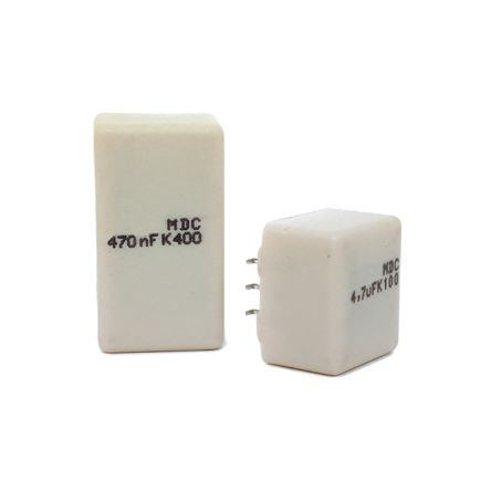 KEMET 10μF Polyester Capacitor PET 30 V ac, 50 V dc ±10%, Surface Mount (50)