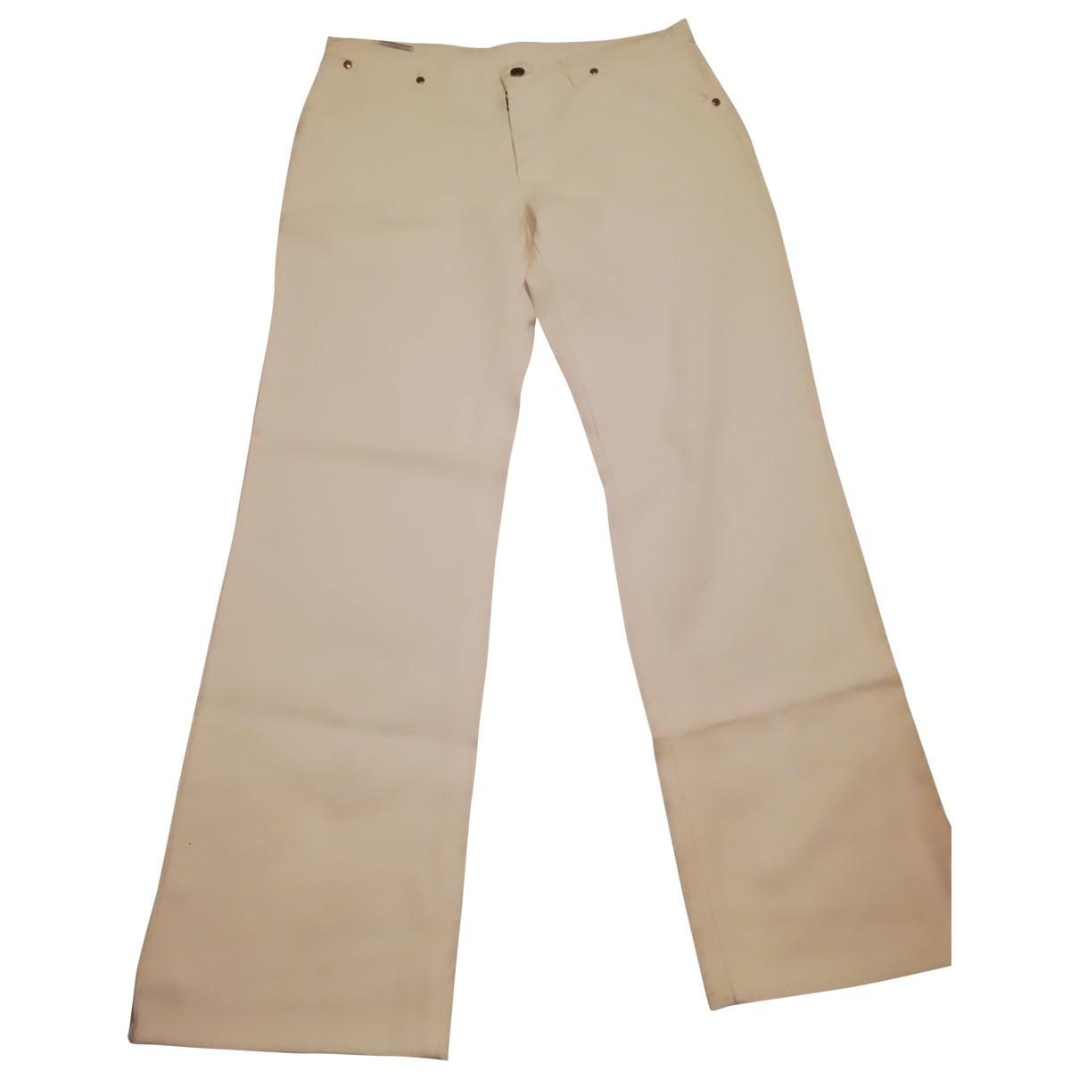 Maison Martin Margiela \N Jeans in  Weiss Baumwolle