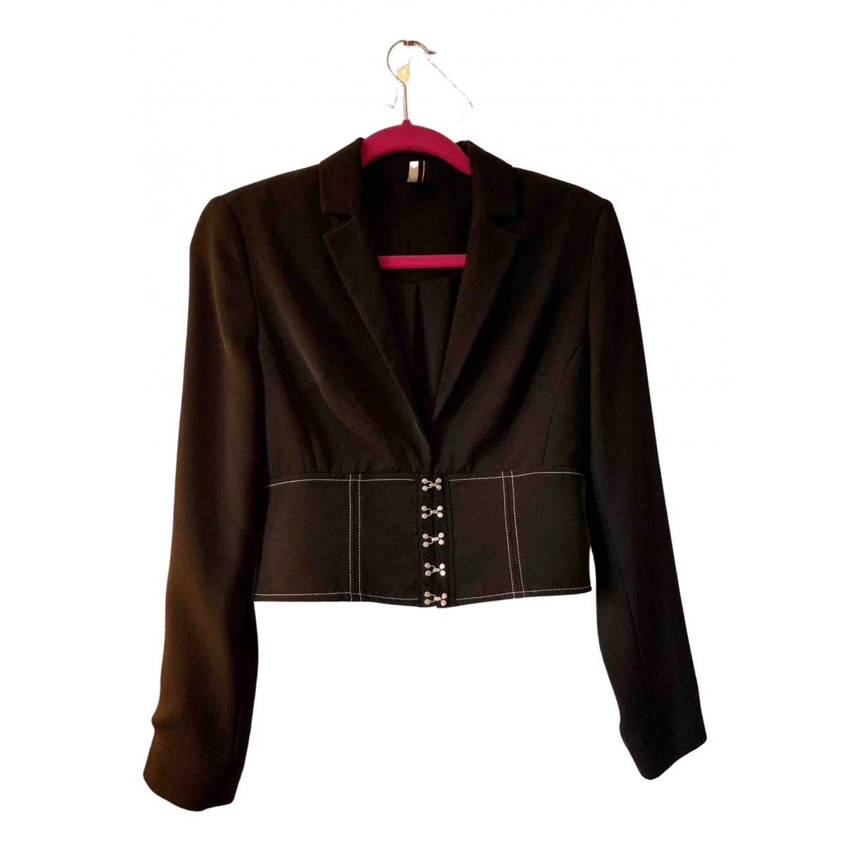 tophop \N Black jacket for Women 10 UK