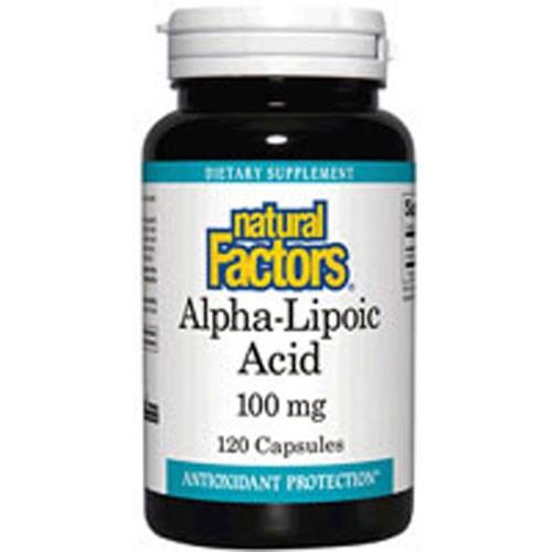 AlphaLipoic Acid 60 Caps by Natural Factors