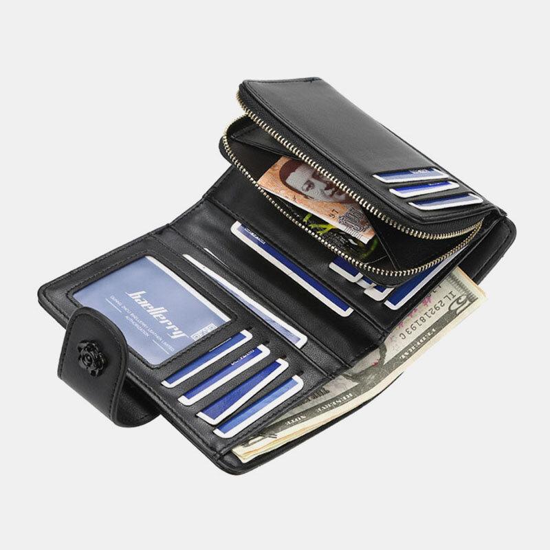 Tassel Argyle Multi-slots Casual Card Holder Wallet Purse For Women