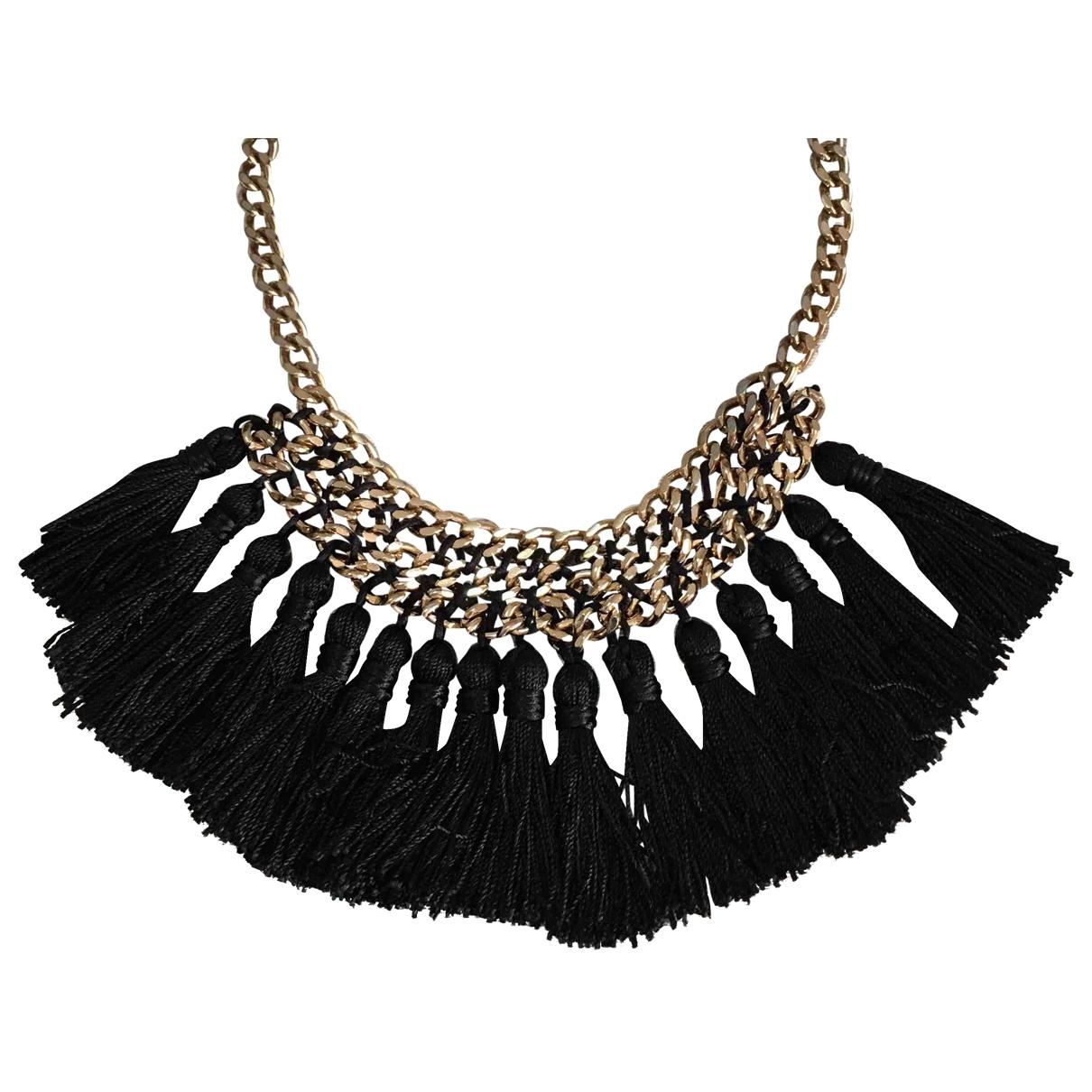 Mango \N Black Metal necklace for Women \N