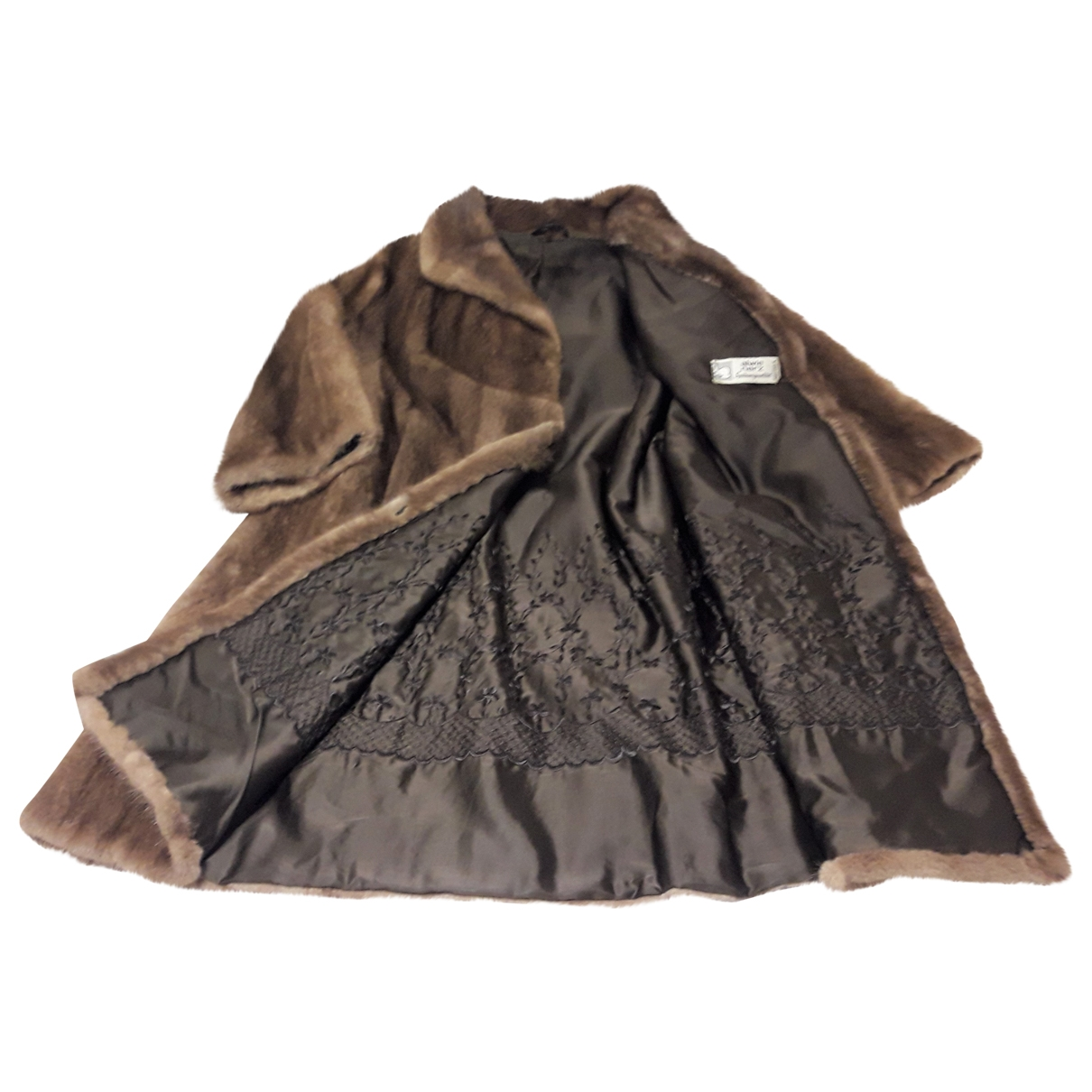 Pellicciai - Manteau   pour femme en vison - beige