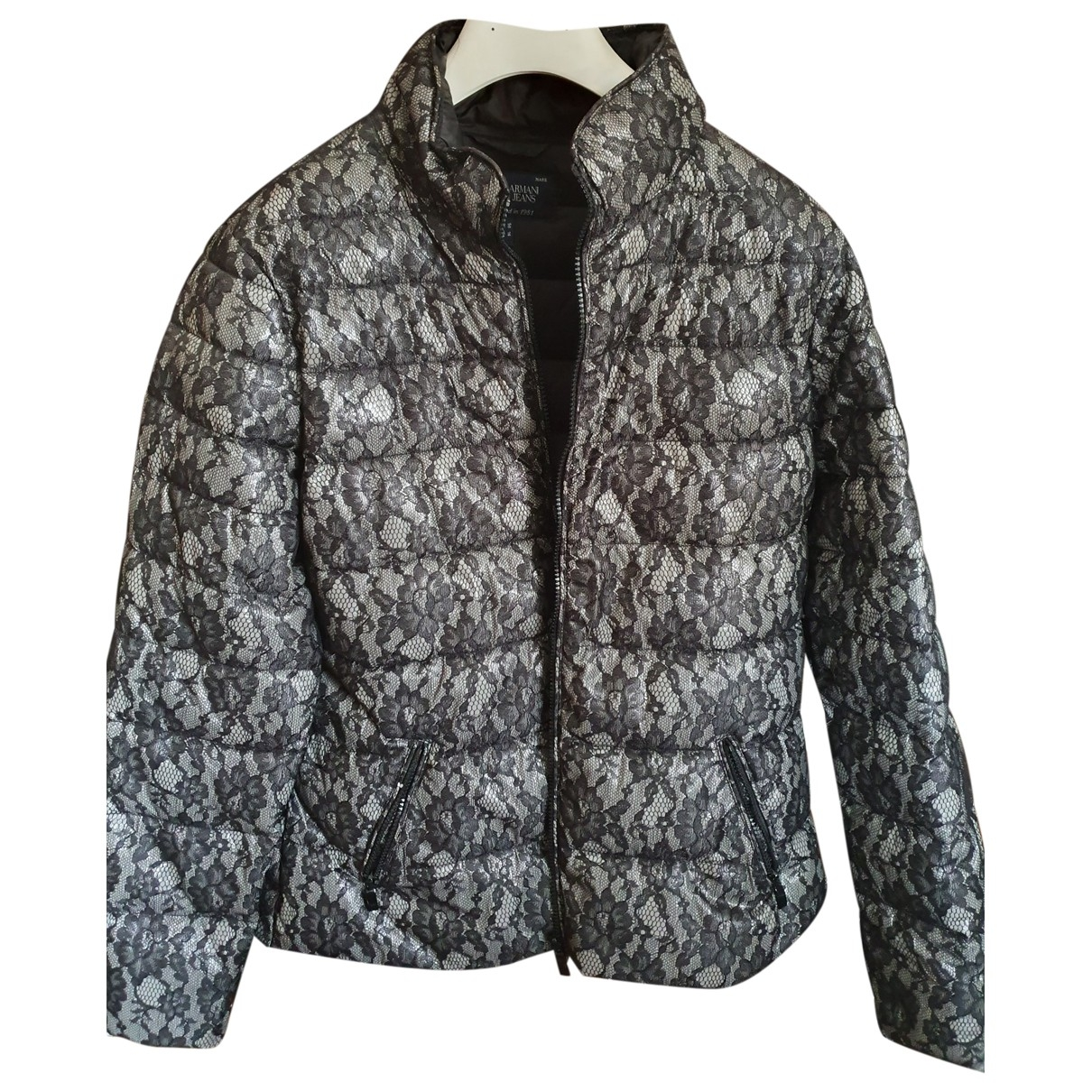 Armani Jeans \N Grey coat for Women 50-52 IT